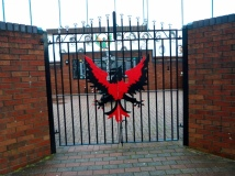 Pheonix gate at the Catholic memorial